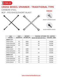 Carbon Steel - Traditional Type