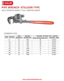 Pipe Wrench- Stillson Type