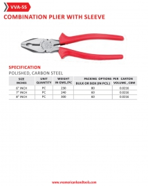 Combination Plier with Sleeve